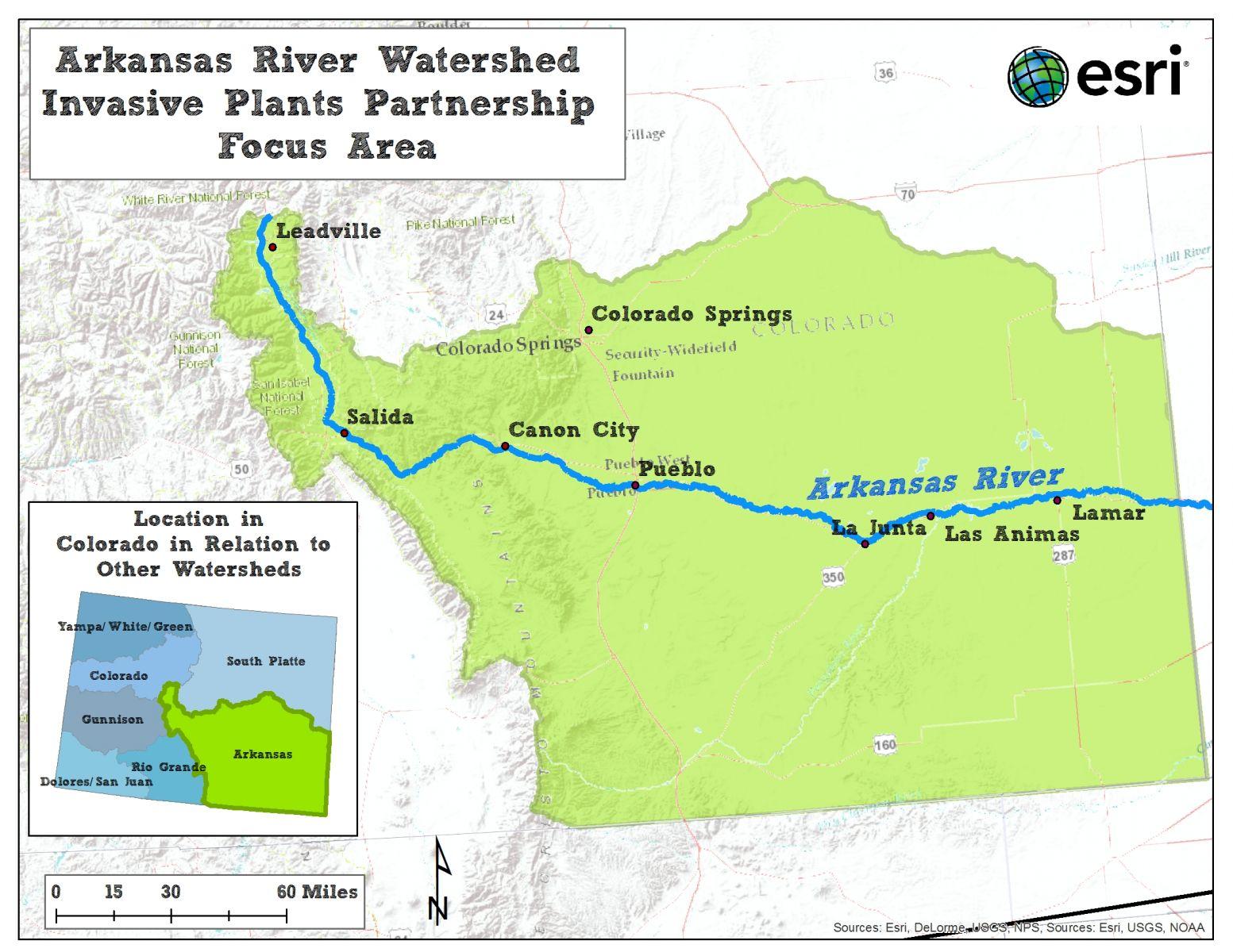 Picture of: Arkansas River Watershed Invasive Plants Partnership Riversedge West