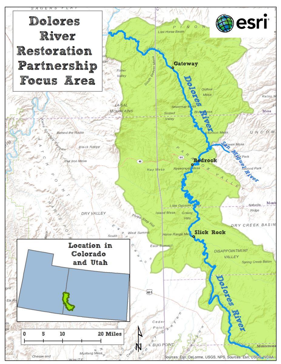 Dolores River Restoration Partnership Riversedge West